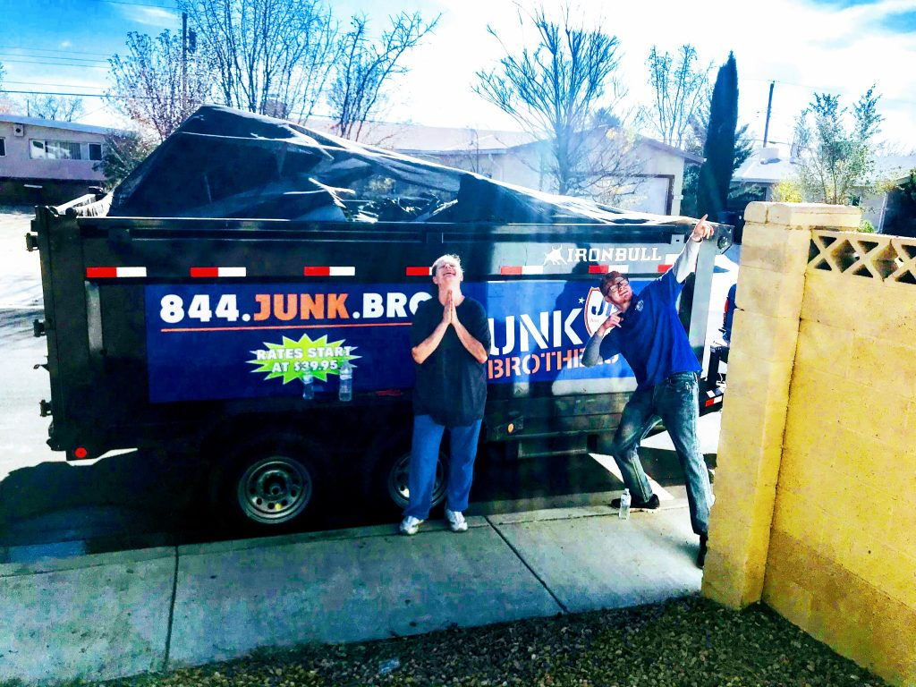 1 Junk Removal Trash Pickup In Albuquerque Nm Junk Brothers